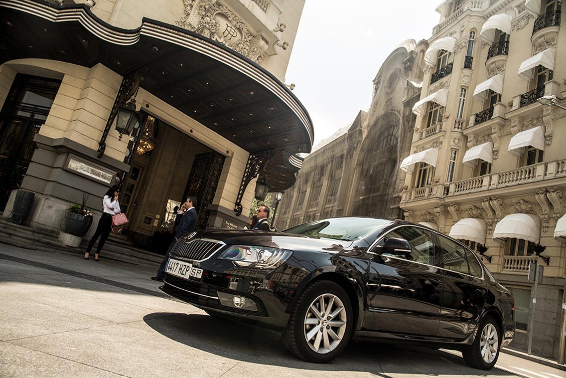 alquiler de coches con chofer para bodas madrid